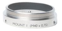 Schneider Optics Macro-#1 M40X0.75 Adapter