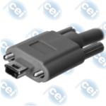 Mini USB-B w/Screws