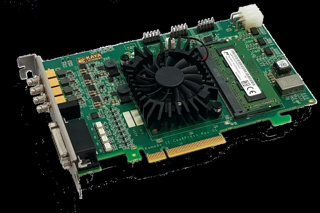 KAYA Instruments Komodo 4CH CoaXPress KY-FGK-II-CXP