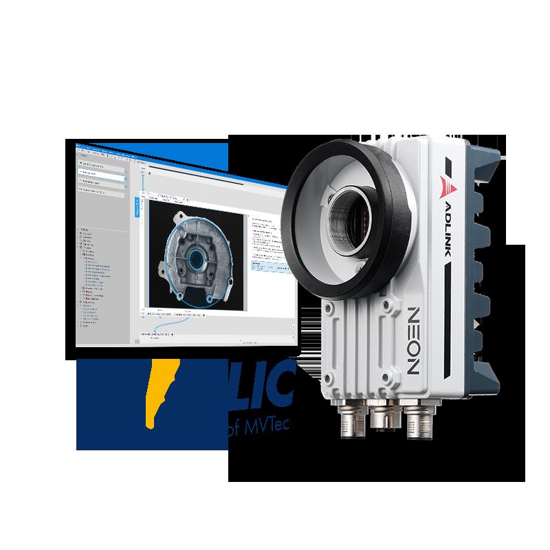 Adlink NEON-1021-M/M4G/SSD32G/64bits WS7E-Photo-1