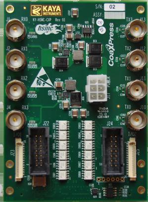 KAYA Instruments HSMC CXP Card KY-HSMC-CXP